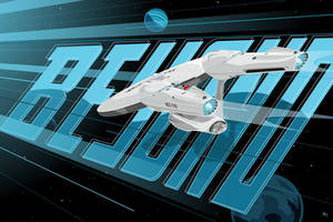Enterprise Beyond (variant) by MikeMahle