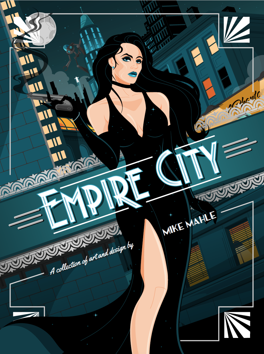 Empire City cover by MikeMahle
