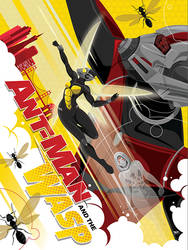 Ant-Man and the Wasp by MikeMahle