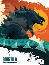 Godzilla: King of the Monsters by MikeMahle
