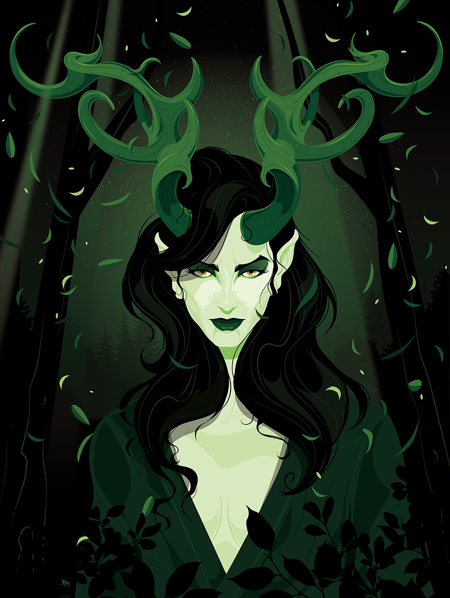 The Horned Empress of the Great Woodland