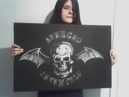 Avenged Sevenfold Deathbat by FrayTheFallen