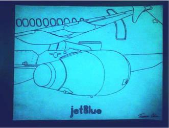 jetBlue by FrayTheFallen