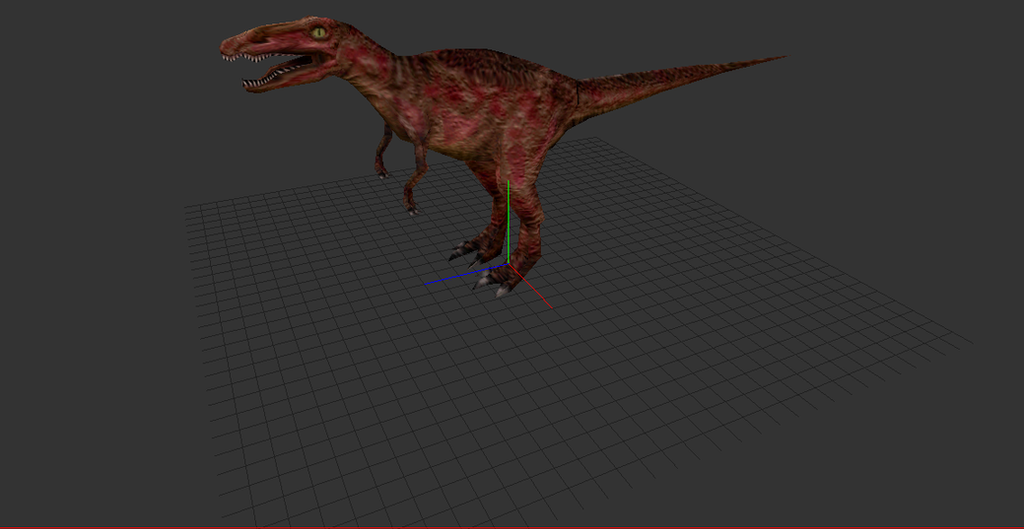 Low Quality Carnivores Model(WIP) by PristineGravy