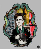 Tom Marvolo Riddle by sylwia-dudek
