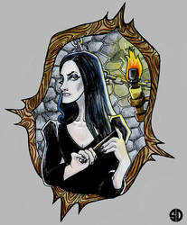 Bellatrix Lestrange by sylwia-dudek