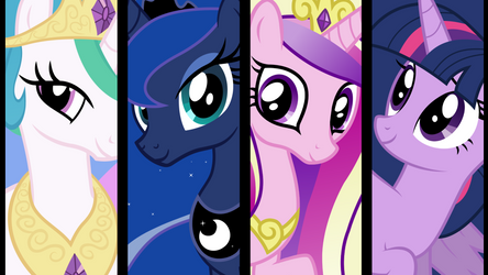 The Princesses of Equestria
