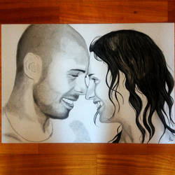 Sara and Leo by umbysassa