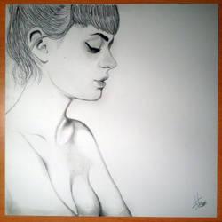 Sketch Model - Helen Kreutzer - Photo by Ron Dress by umbysassa