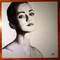 Sketch Model - Elle Trowbridge by umbysassa