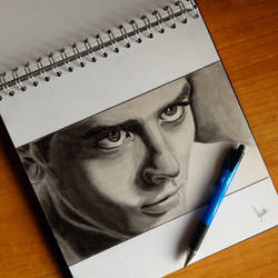 Alain Delon Sketch by umbysassa