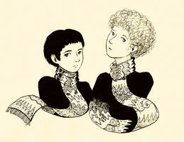 Simon and Garfunkel by FG-Twins
