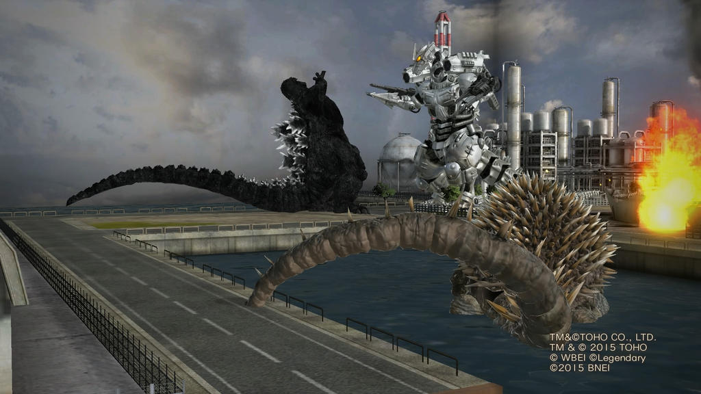Pin Godzilla-unleashed-mechagodzilla-vs-kiryu on Pinterest