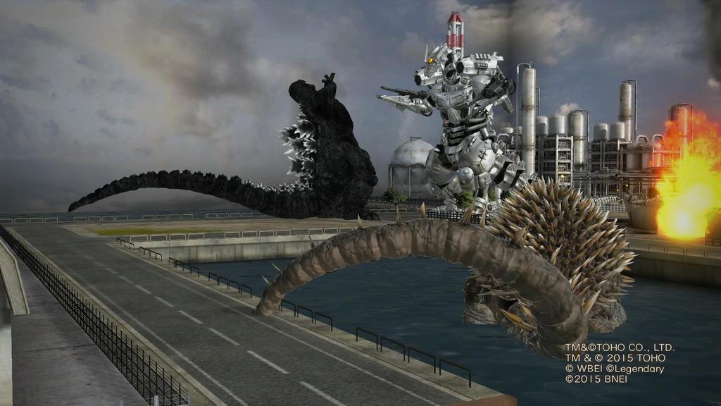 Pin Godzilla-unleashed-mechagodzilla-vs-kiryu on Pinterest