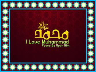 Muhammad[I Love My  Prophet] by MURTUZA1997