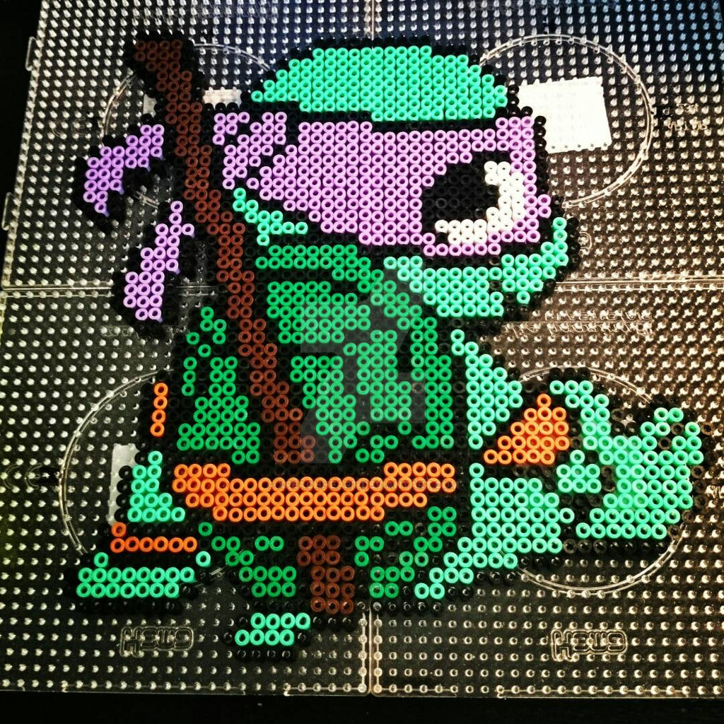 Perler Bead Patterns Ninja