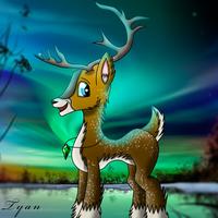 Mlp - Reindeer OC by TyandagaArt