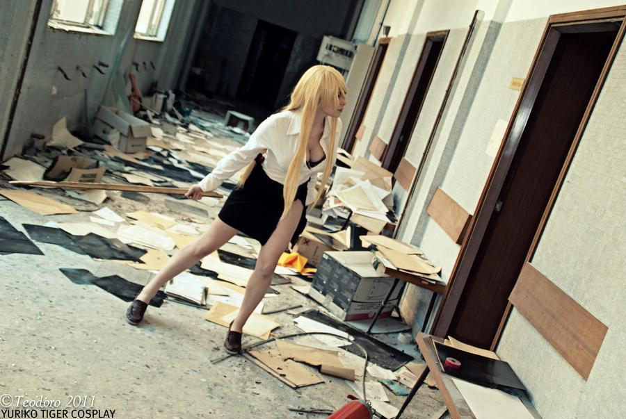 Shizuka,High school of dead by YurikoTiger