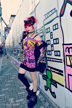 Harajuku Punk Fashion by  'YURIKO TIGER'