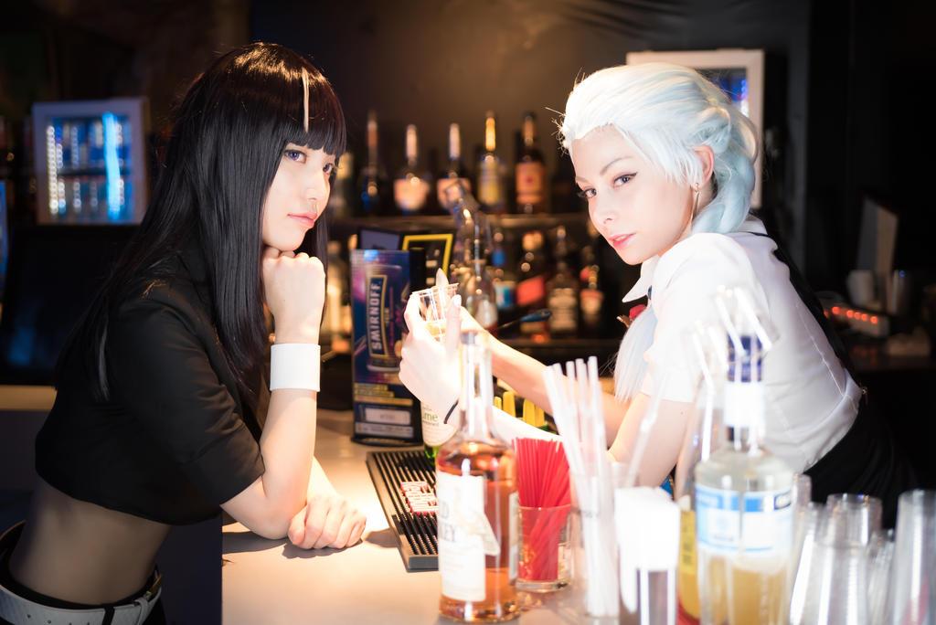 Chiyuki and Nona by YurikoTiger