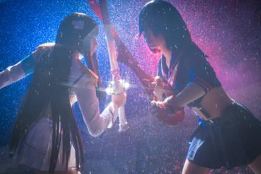 Last Battle Satsuki vs Ryuko