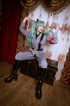Real Anchovy Italian Cosplayer