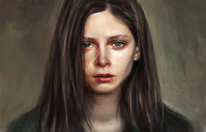 Sad girl by Lusidus