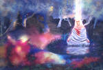 Meditation. Night by Lusidus