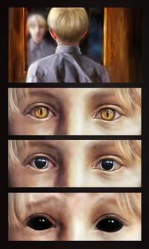 Metamorphosis with eyes