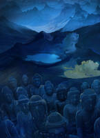 Army of Buddhas by Lusidus