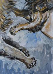 Lionssketch by Lusidus