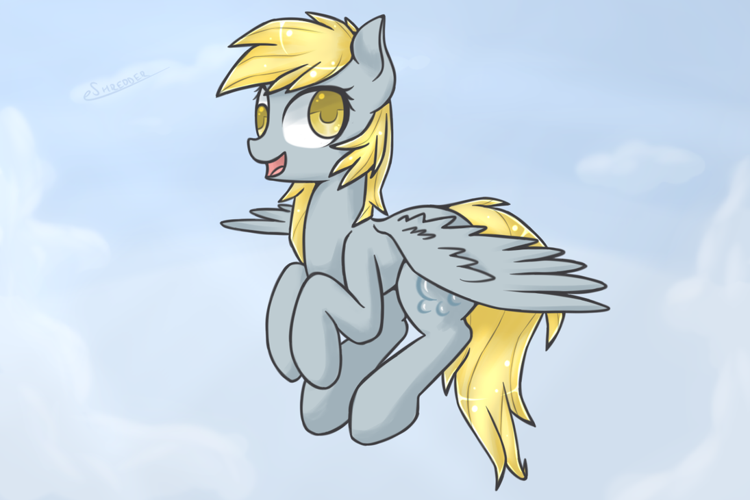 Derpy being Herp by eShredder