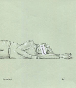 Emotional series - Exhausted