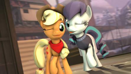[SFM] Applejack and Rara by AlicornTwilySparkle