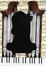 OC silhouettes #2 - Simon