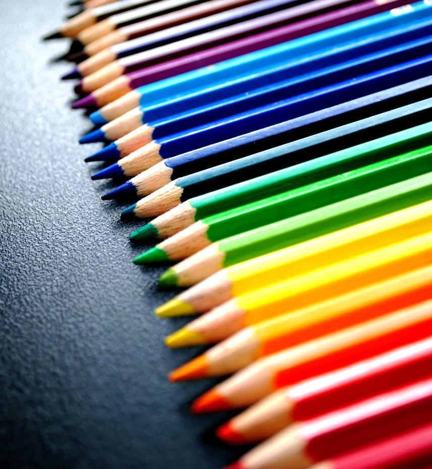 Как из сделать цветной рисунок карандашом вшопе
