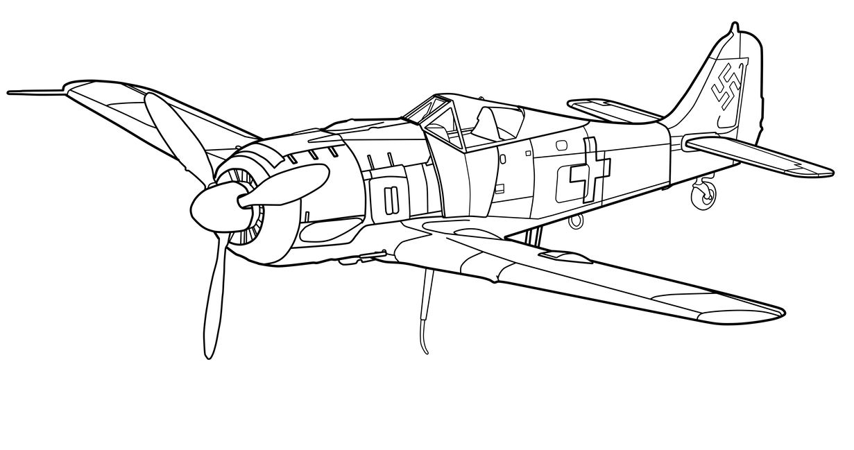 fw-190 (wip)der-buchstabe-r on deviantart