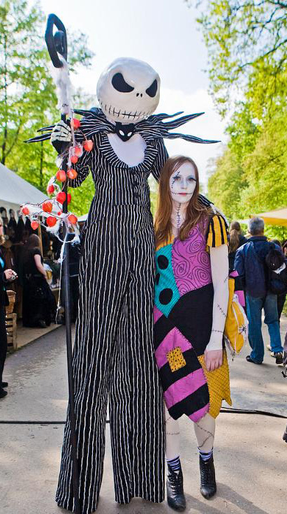 jack and sally costumes by mnemousyne on deviantart