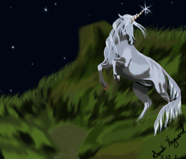 The Unicorn by Mean-cat on deviantART