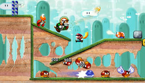 Super Mario World Painted