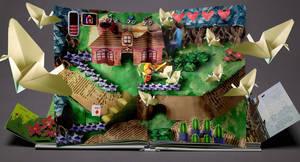 Paper Zelda - For Nintendo Switch