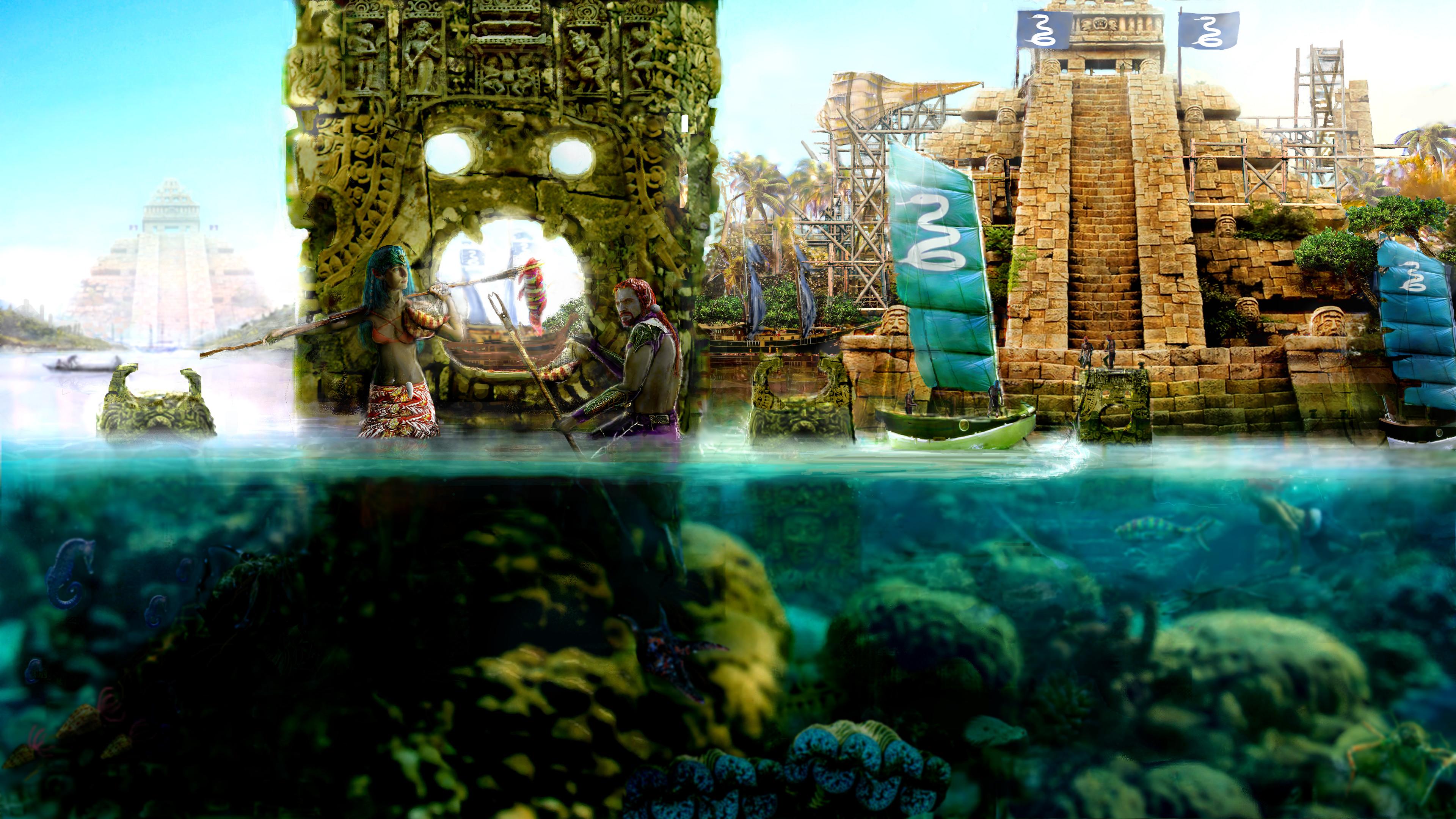 Elder Scrolls - Sea Elves of Aht'Ol