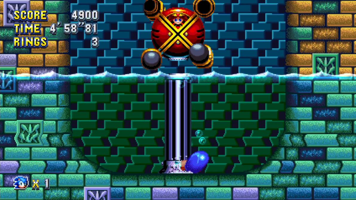 Omlette/Eggette in Sonic Mania (re-sprite) by modji-33