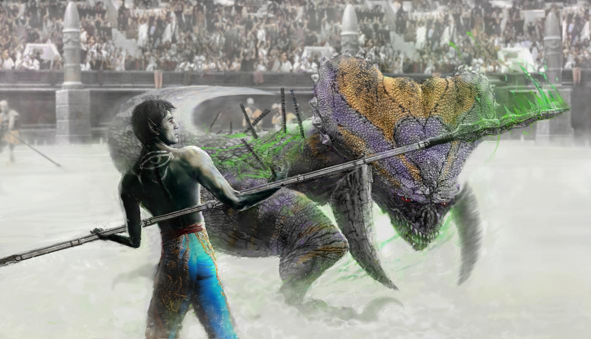Morrowind Gladiator by modji-33