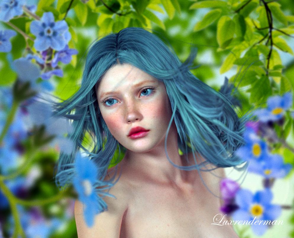 Flower Photoshoot 1 Detail by luxrenderman