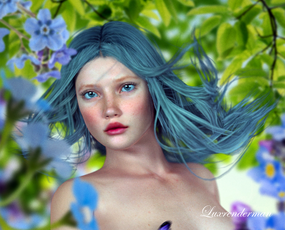 Flower Photoshoot 2 Detail by luxrenderman