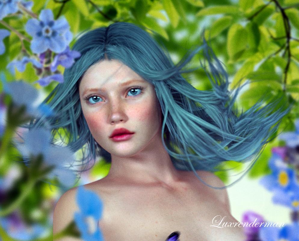 Flower Photoshoot 2 Detail by luxrenderman