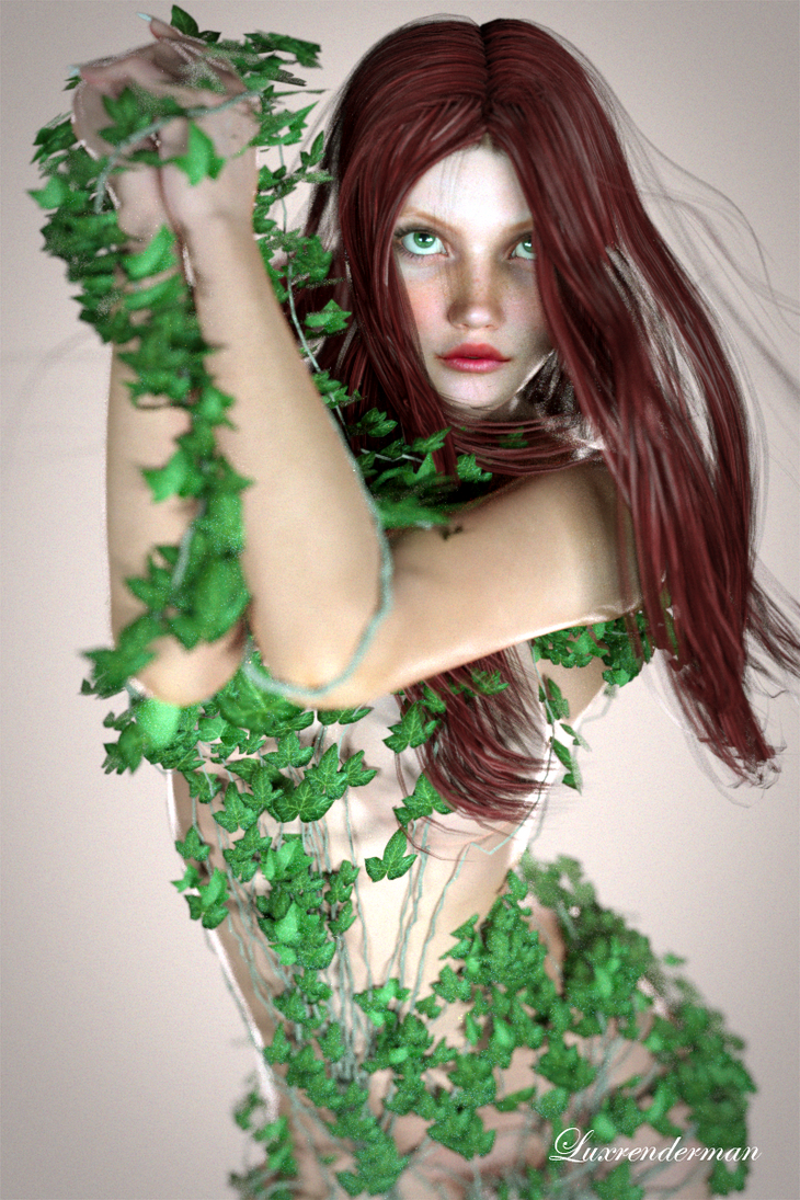 Bea - Poison Ivy by luxrenderman