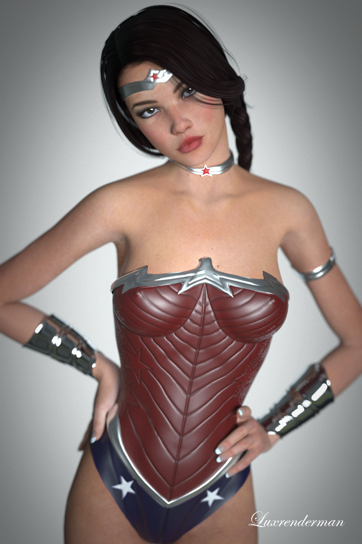 No I did NOT feel like wearing the Lasso! by luxrenderman