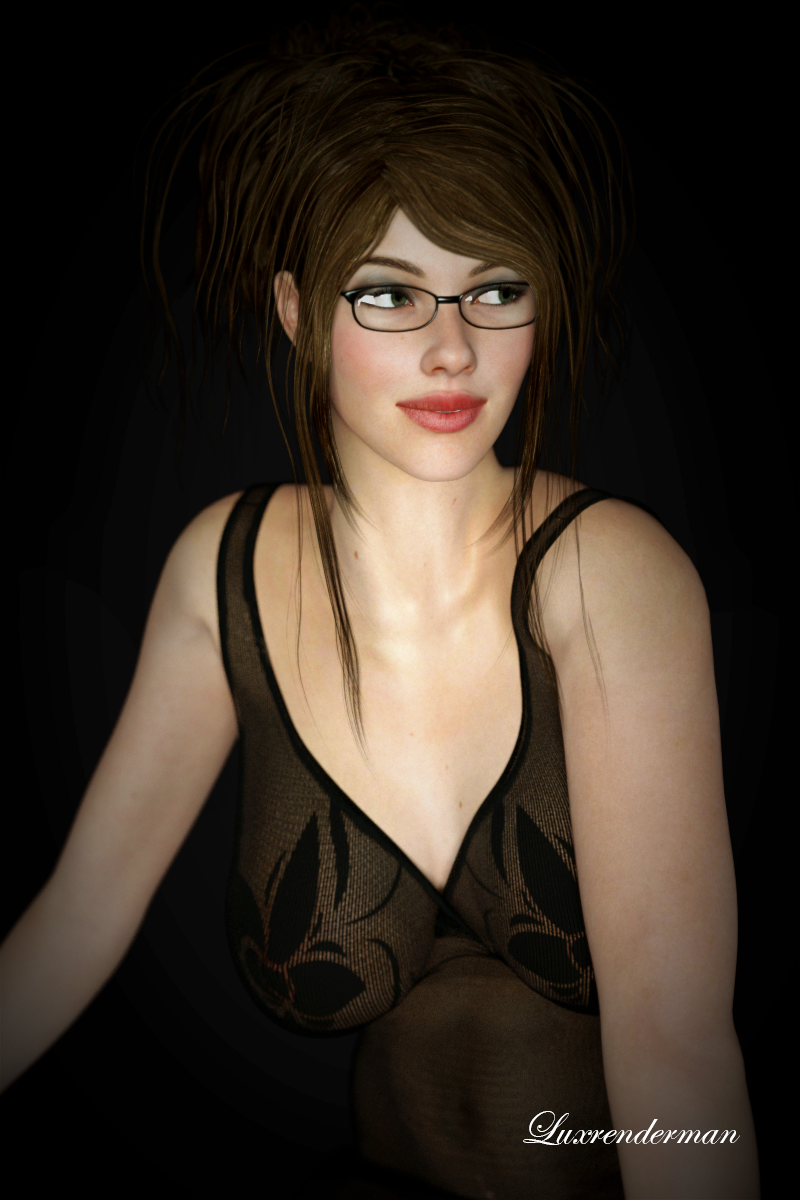 Amy - Dark and Relaxed by luxrenderman